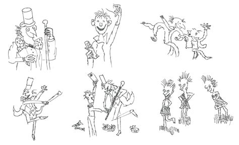 Free Roald Dahl Characters Coloring Pages Roald Dahl Colouring Pages