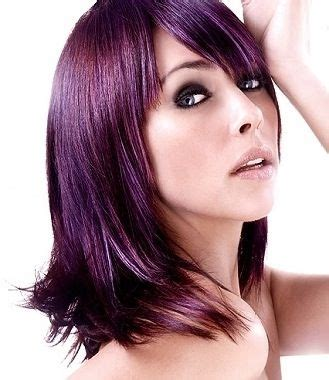 eggplant color hair eggplant hair color pictures brown hairs