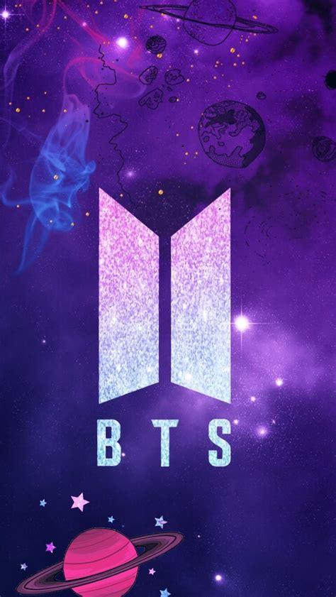 bts logo wallpapers top  bts logo backgrounds