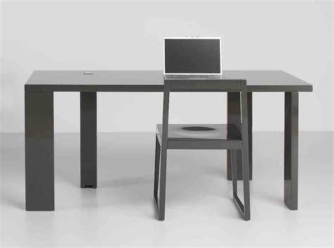 bureau free free bureau l160 cm avec top access noir brillant