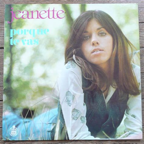 jeanette porque te vas lp for on groovecollector