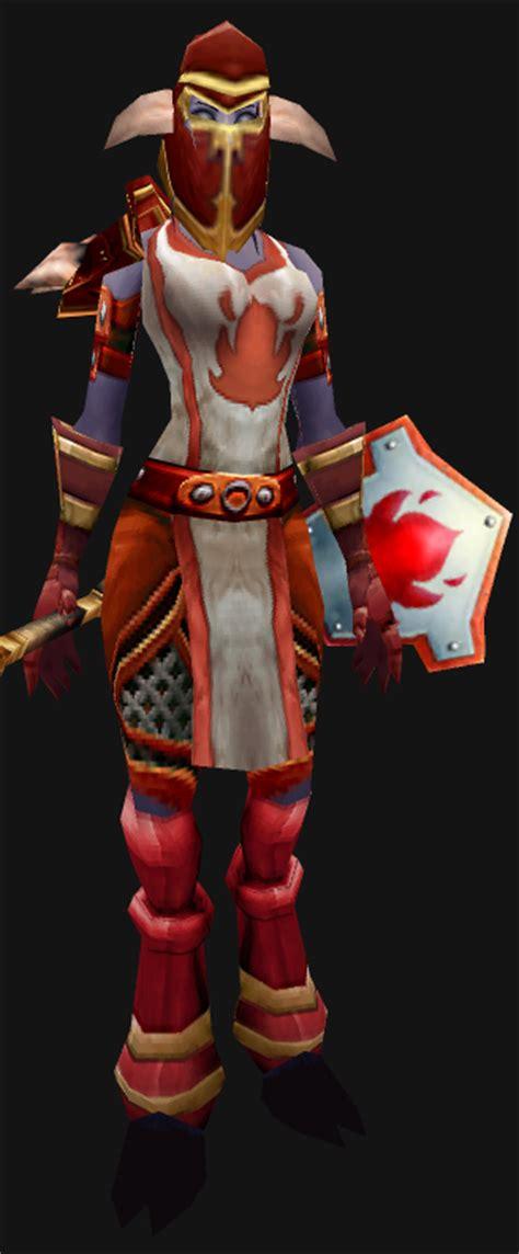 scarlet set wow fashion mail scarlet crusade set