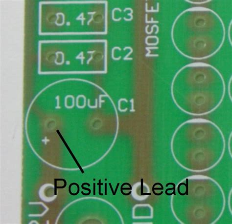 capacitor incorrect polarity how to assemble your own 140 led infrared light source part 2