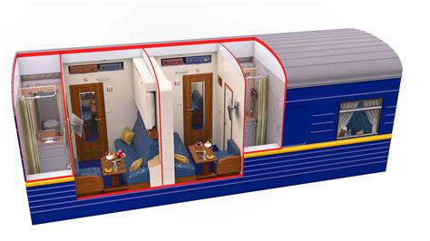 Cabin Floor Plans Small Luxury Train Travel On Board The Golden Eagle