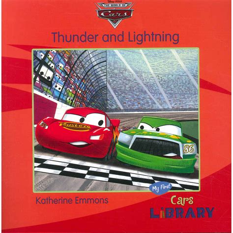 books about cars and how they work 2007 mazda b series on board diagnostic system disney pixar cars thunder and lightning by kathrine emmons disney books at the works