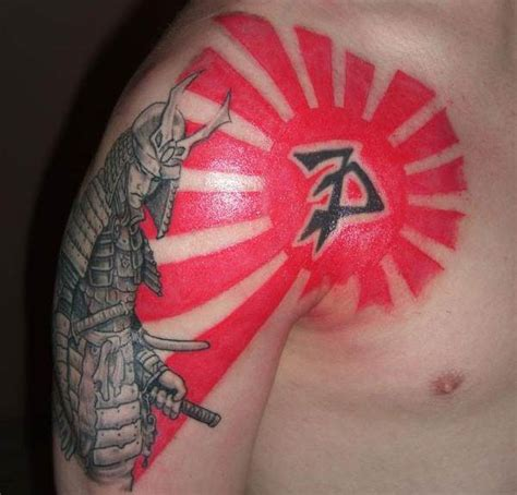 japanese sun tattoos japanese rising sun tattoos