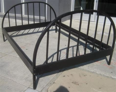 metal headboard and footboard full black metal full size bed frame and arched full size