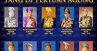 senarai   pertuan agong malaysia mediafantasia