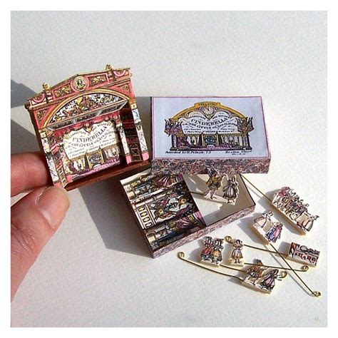 dolls house theatre open house miniatures dolls house victorian theatre cinderella diy craft s