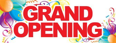 Grand opening 3x8