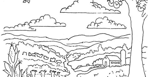 autumn farm coloring page coloring pages for kids by mr adron printable autumn