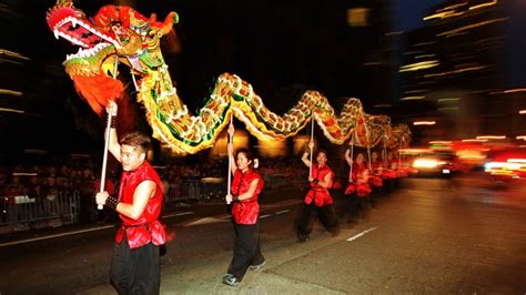 history of new year parade list ancient new year china