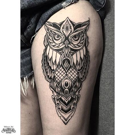 owl tattoo dotwork owl dotwork tattoo forest tattoos pinterest eulen