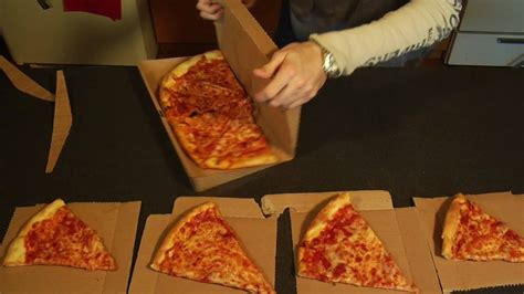 How To Make A Pizza Box Out Of Paper - greenbox pizza box turns into plates storage unit