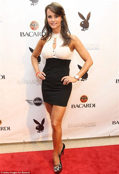 Bruce Willis Dating 23 Year Playmate Model by Mcdougal S Career From Playmate To Fitness