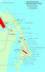 launch maps active and planned launch pad usage at cape canaveral the rocketry