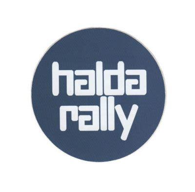 Blauer Aufkleber Windschutzscheibe by Aufkleber Gt Halda Rally