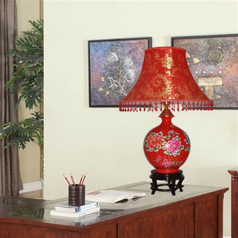 red table for bedroom modern fashion jingdezhen ceramic red table l marriage
