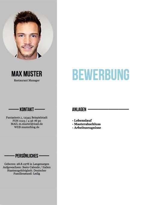Lebenslauf Muster Deckblatt Deckblatt Bewerbung Tipps Und Gratis Vorlagen