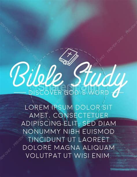 Church Bible Study Flyer Template Template Flyer Templates Bible Study Flyer Template