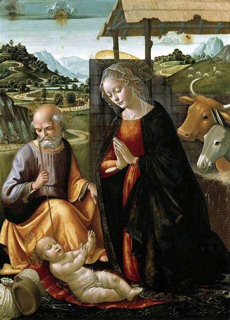 nativity  domenico ghirlandaio wikiartorg