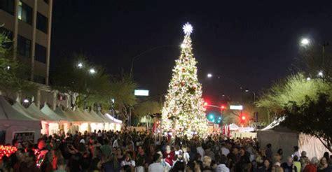 mesa 40 000 christmas tree torched arizona daily