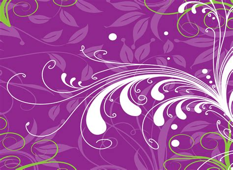 purple layout vector purple floral vector backdrop
