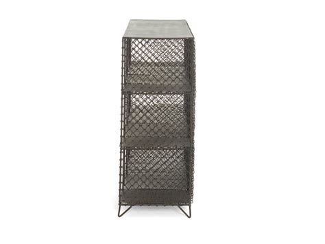 Mesh Shelving Mish Mesh Shelves Industrial Wire Bookcase Loaf