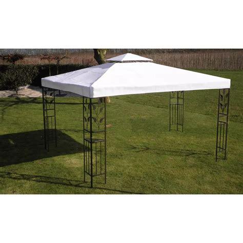 vidaxl gartenpavillon wei 223 3 x 4 m g 252 nstig kaufen vidaxl de - Gartenpavillon 3 X 4 M