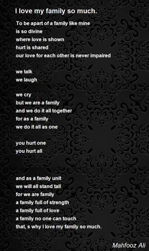 i my so much i my family poems www imgkid the image kid has it