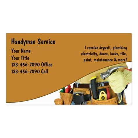 Handyman Gift Card - handyman business cards