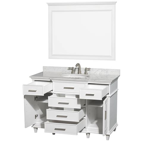 Modern Bathroom Hms Berkeley Single Vanity 48 No Mirror Transitional