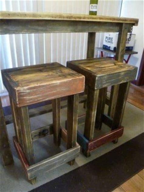Rustic Bar Stool Plans by Workshop Stools Foter