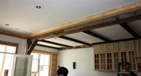 Beamed Ceiling by Beamed Ceiling New House Update Cedar Hill Farmhouse