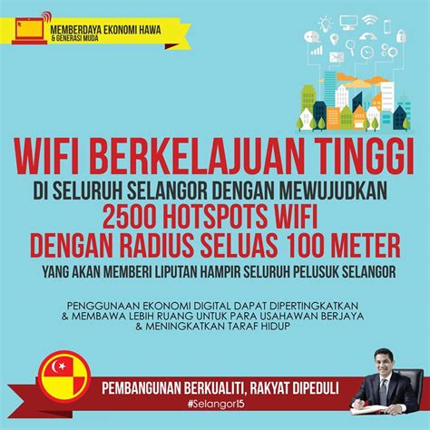 Wifi Di Malaysia by Selangor Ingin Menyediakan Wifi Berkelajuan Tinggi Yang
