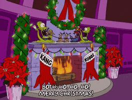 christmas fireplace gifs find share  giphy
