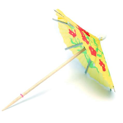 1PCS Party Paper Parasol Umbrellas Toothpick Wedding Luau