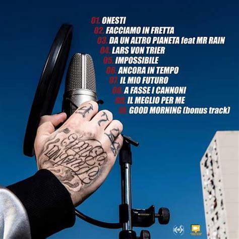 senza paura testo diluvio senza paura tracklist album audio