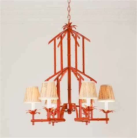 Bamboo Tower Chandelier Red Asian Chandeliers By Japanese Chandeliers
