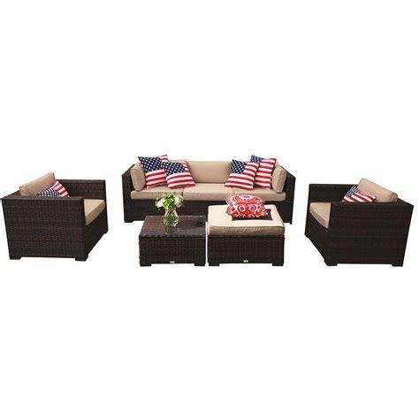patioroma outdoor furniture sectional sofa set  piece
