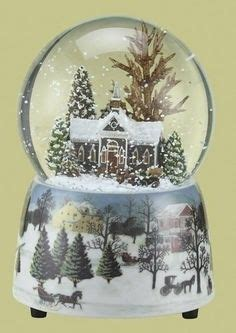 winter scene snow globes snow globes globes and snow on