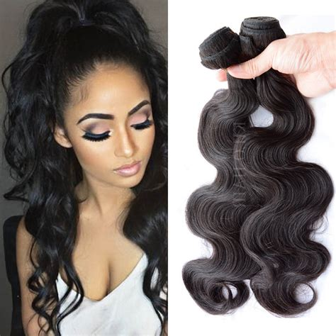 pic of one bundle brazilian body wave wrave body wave hair 3 bundle deals brazilian virgin hair with
