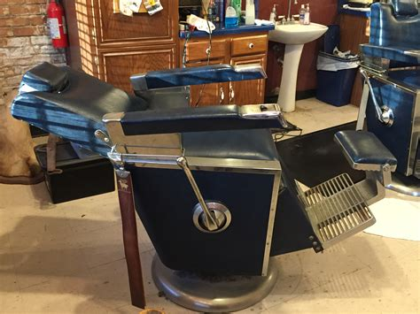 chair barber shop hours 2 emil j paidar 1959 antique barber chairs