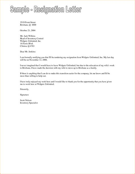 Letter Of Resignation Template by 7 Friendly Resignation Letter Template Invoice Template