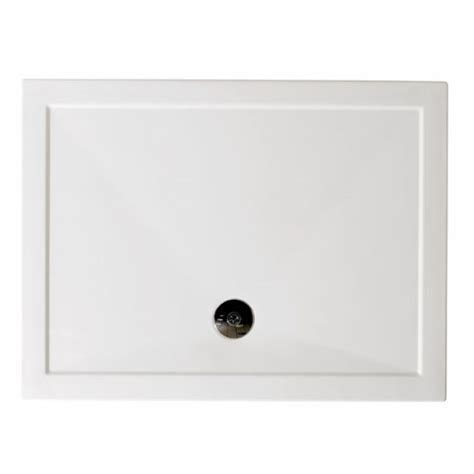 rectangle easy plumb low profile resin shower tray