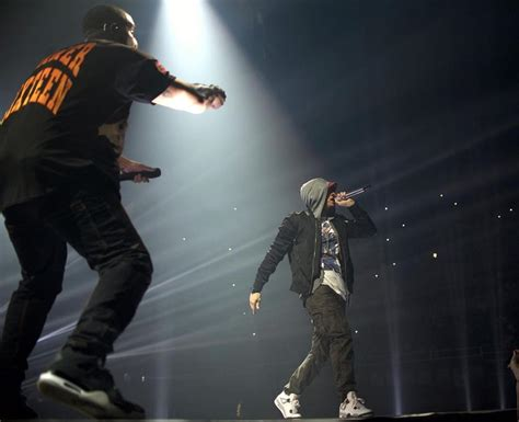 drake eminem drake and eminem just turned their rumoured beef into a