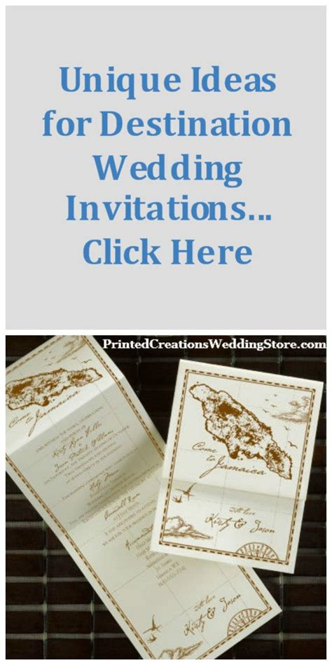 what comes in a wedding invitation click here to find unique ideas for destination wedding