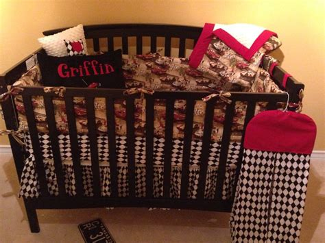 vintage car crib bedding vintage race car nursery bedding nursery ideas