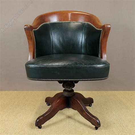 desk antique vintage vintage leather desk chair antiques atlas