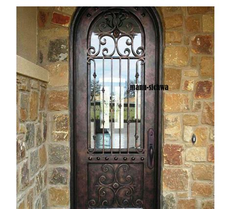 fabricated grilled door gate designs modern iron main